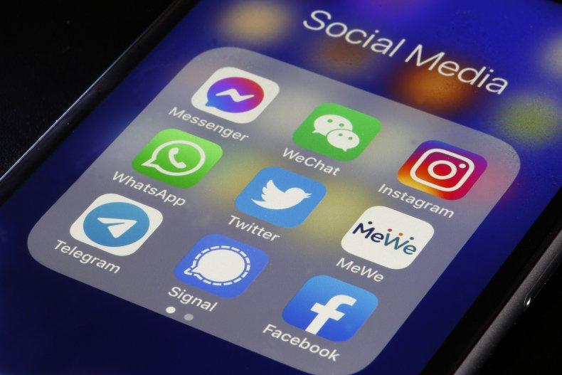 Social media apps iPhone January 2021
