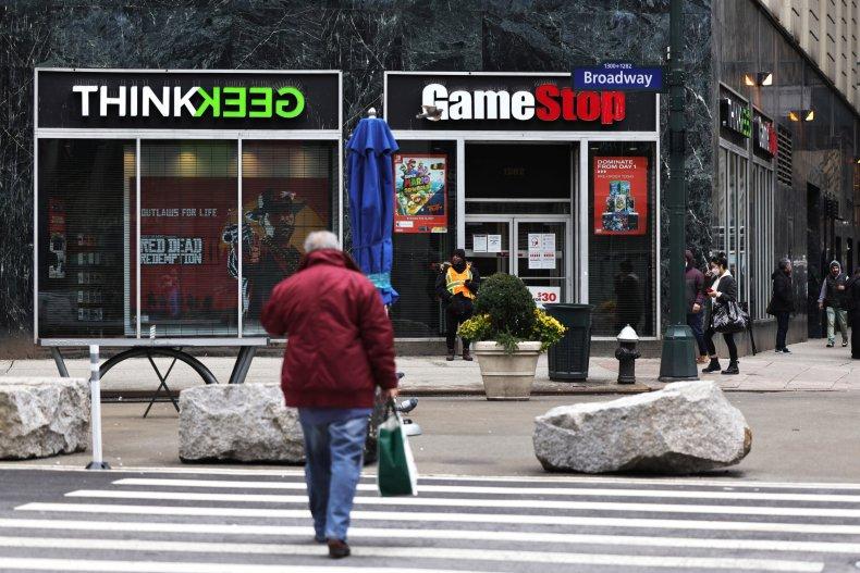 A GameStop Videogame Store In Midtown Manhattan