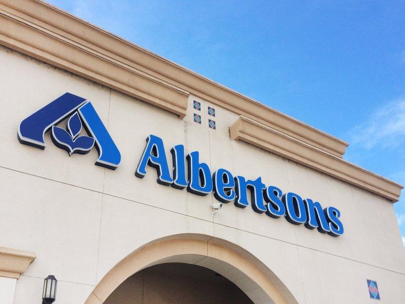 Albertsons store in California