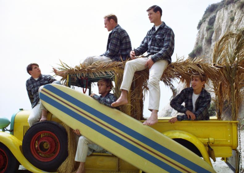 The Beach Boys start making music