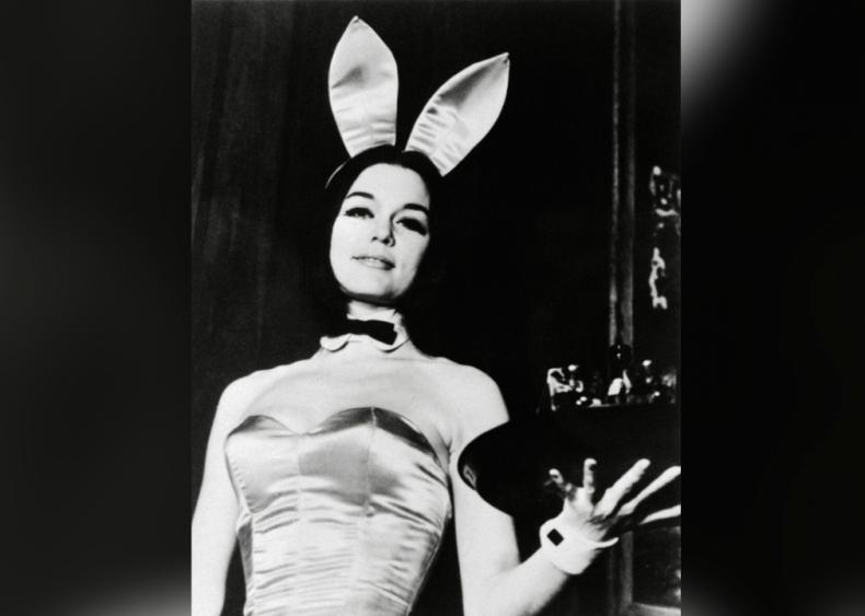 Gloria Steinem goes undercover as a Playboy Bunny