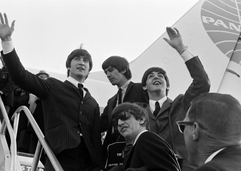Beatlemania sweeps the U.S.