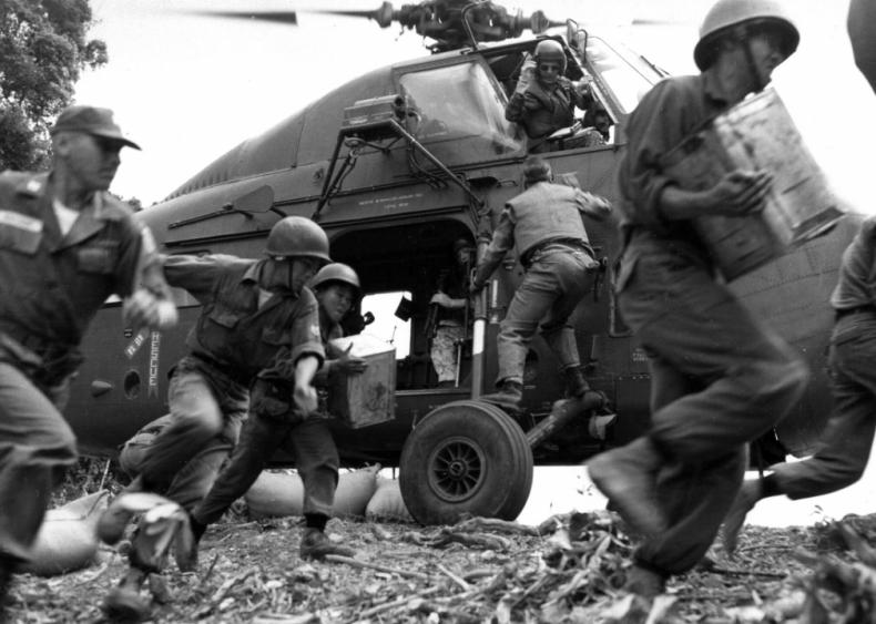 U.S. involvement in Vietnam escalates