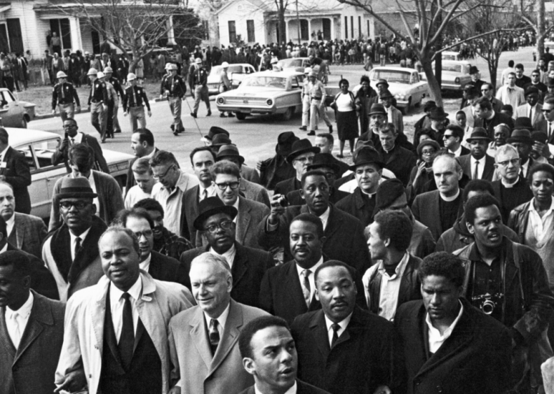 Selma to Montgomery marches take place