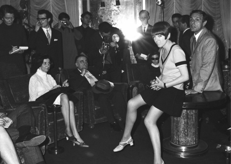 Mary Quant and the miniskirt