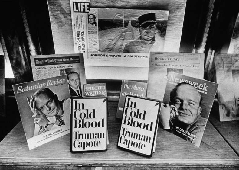 """Truman Capote publishes """"In Cold Blood"""""""