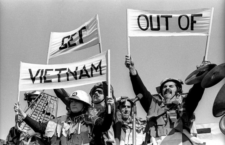 Anti-Vietnam protests at home