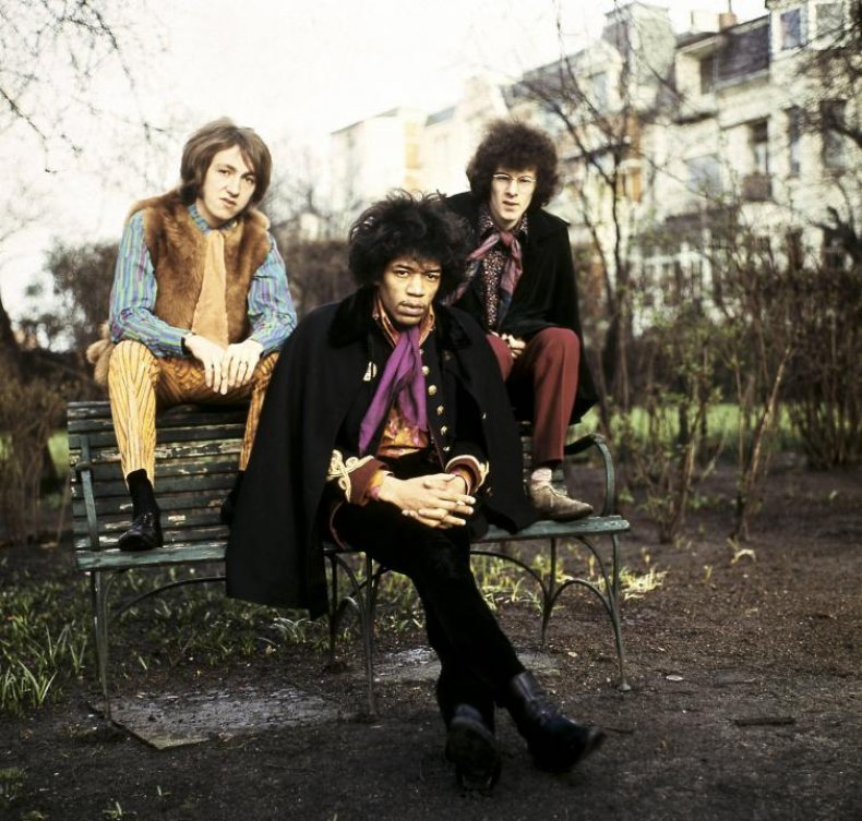 The Jimi Hendrix Experience releases two successful albums