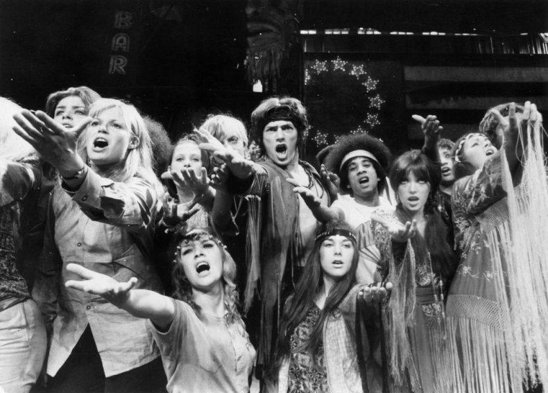 'Hair' opens in London's West End