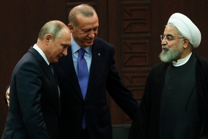 russia, putin, turkey, erdogan, iran, rouhani