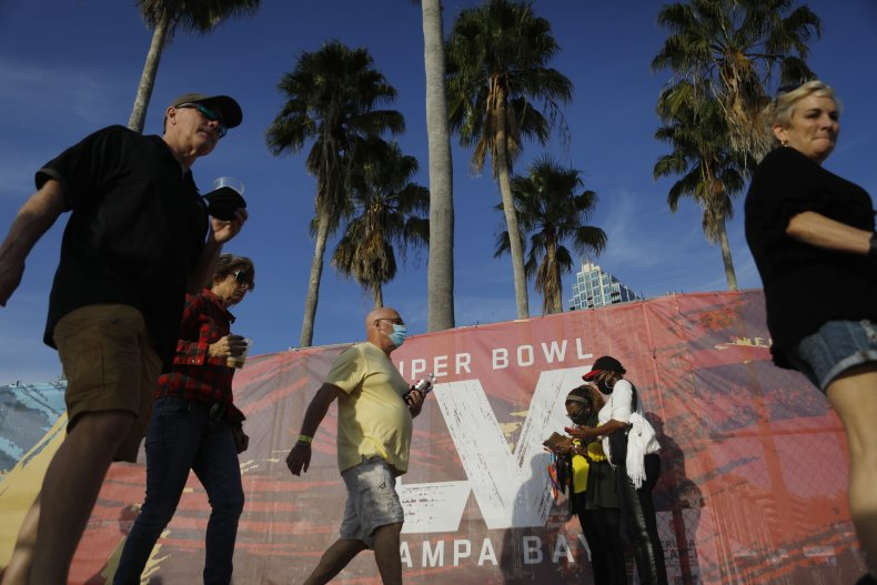 super bowl LV security planning threat assessment