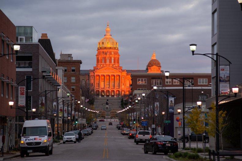 Iowa Statehouse in Des Moines