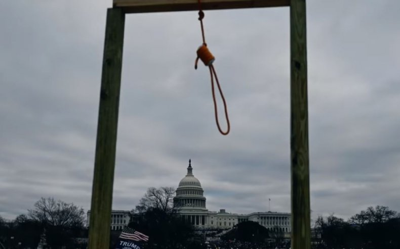 josh hawley lincoln project noose