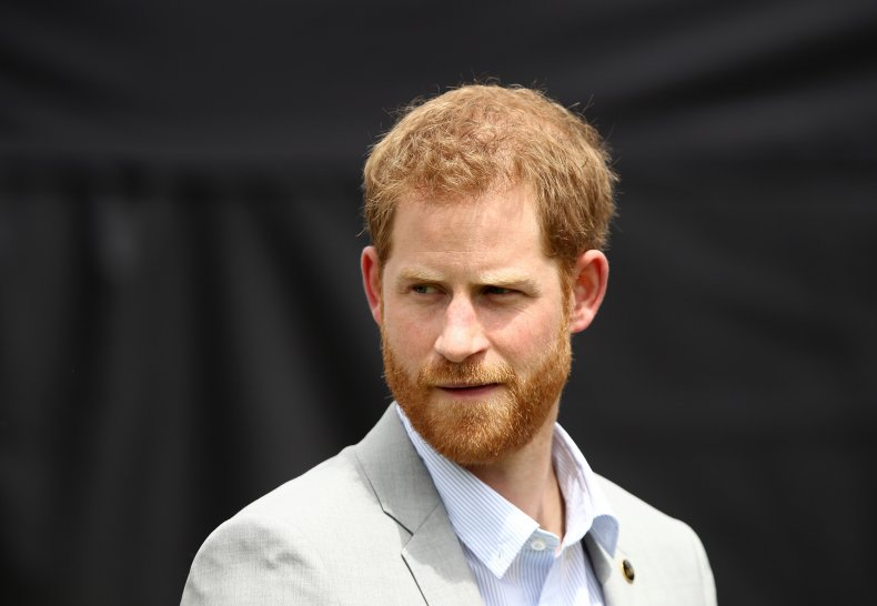 Prince Harry at Invictus Games in Sydney