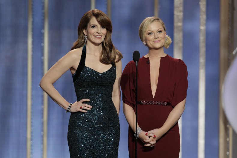 Amy Poehler Tina Fey Golden Globe Nominees