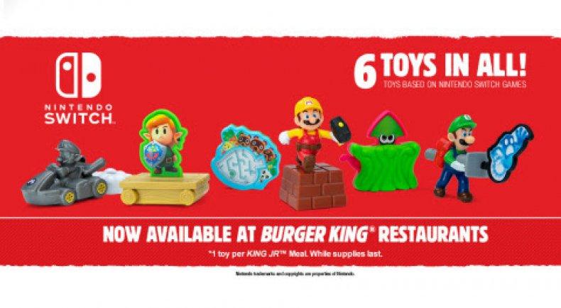burger king nintendo switch toys