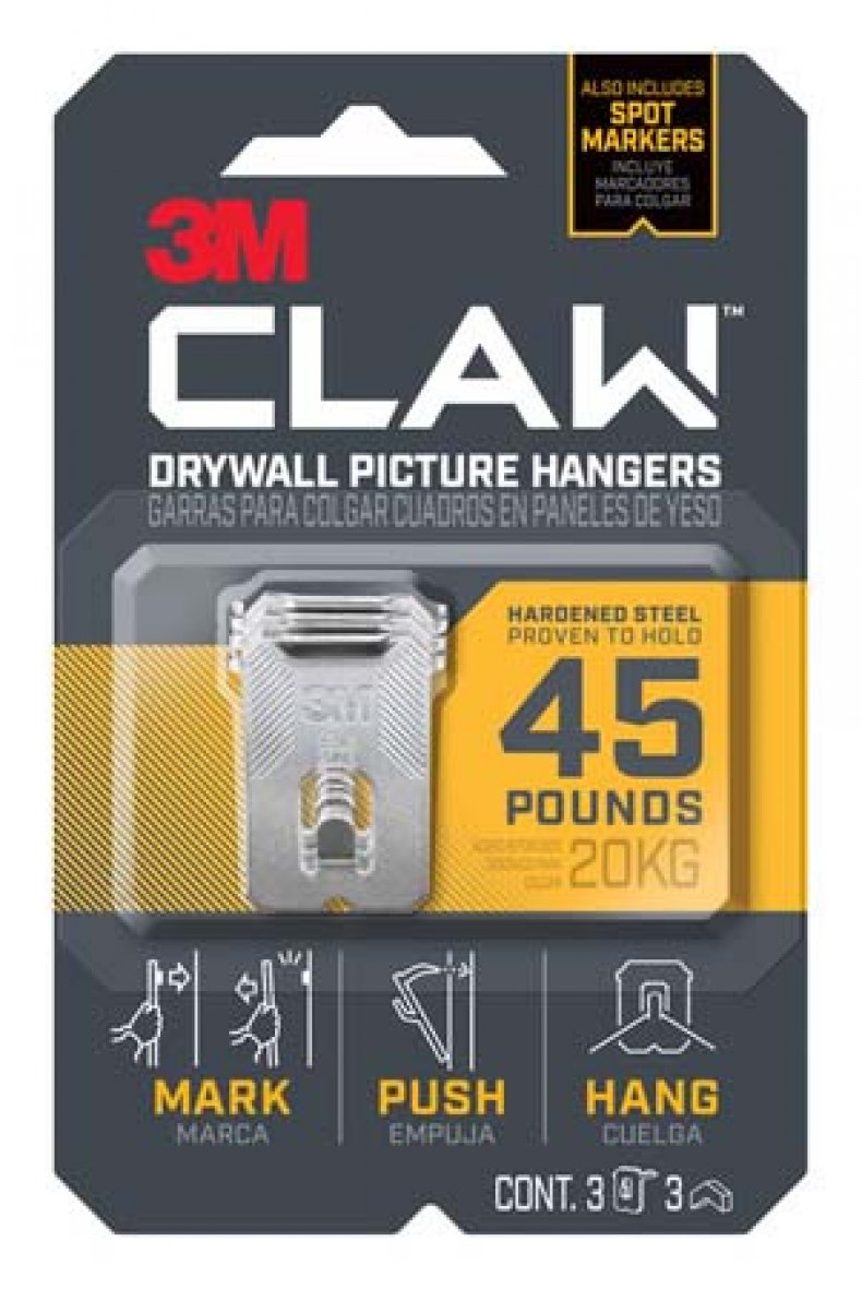 3M Claw Drywall Picture Hangers