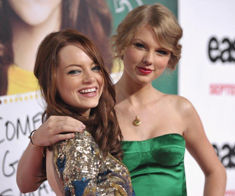 Emma Stone Taylor Swift BFFs