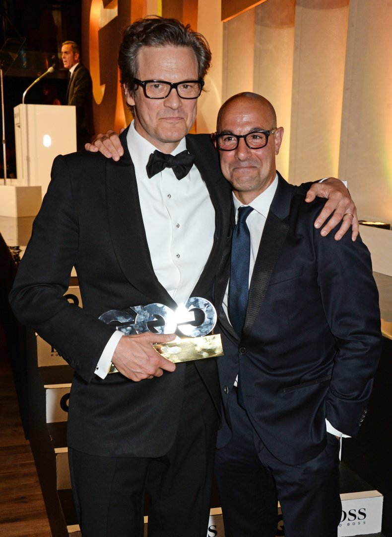 Colin Firth Stanley Tucci Best Friends