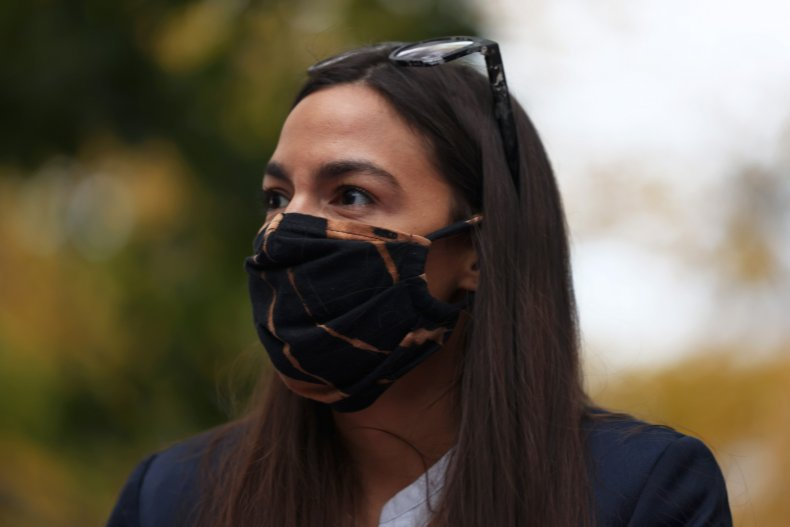 Rep. Alexandria Ocasio-Cortez in New York City