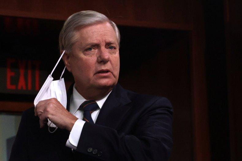 Lindsey Graham in Washington D.C.