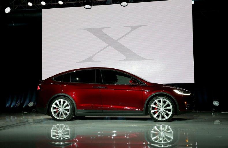 Tesla Model X SUV California 2015