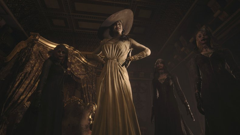 'Resident Evil's' New 'Tall Lady' Is Indeed Very Tall, and ...