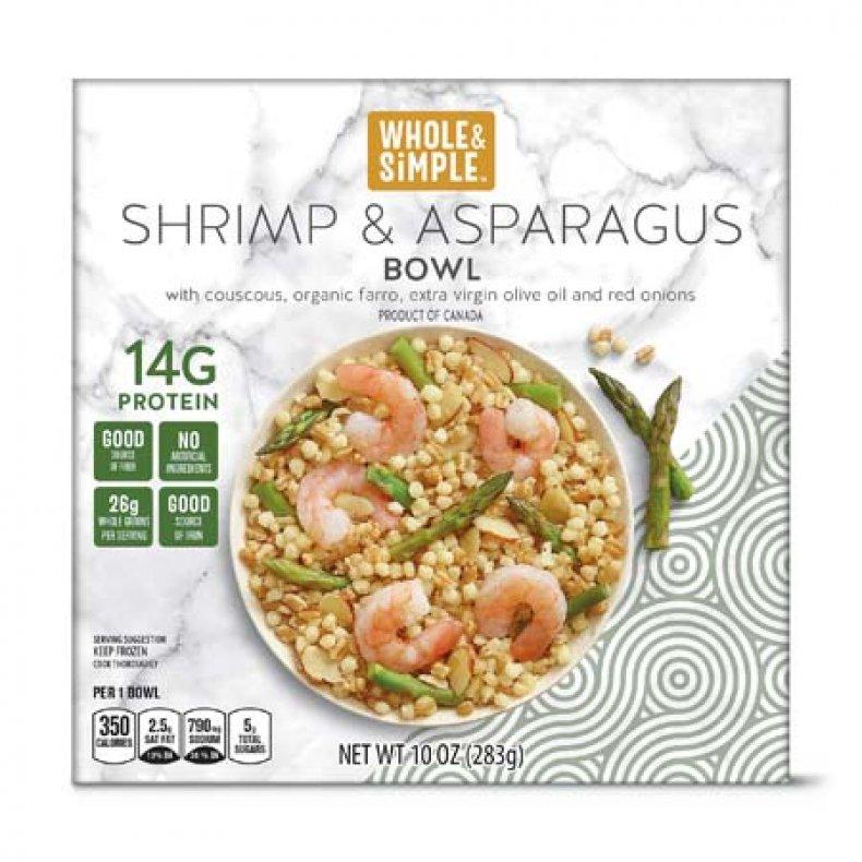 Whole & Simple Shrimp & Asparagus Bowl