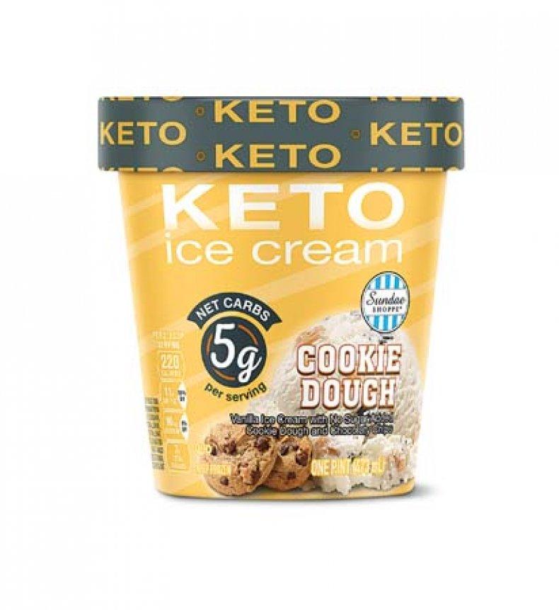 Keto Cookie Dough Ice Cream