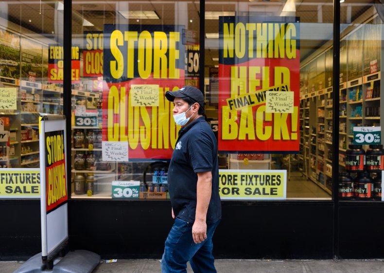 storefront closing New York City coronavirus 2020
