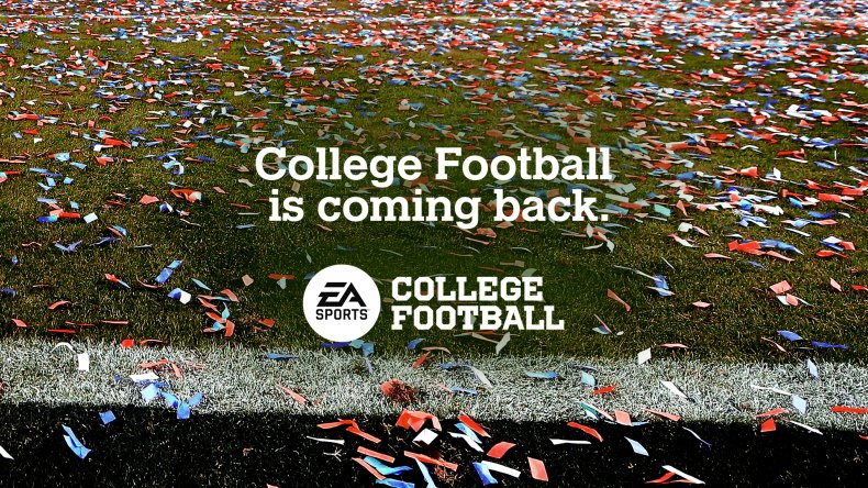 ea sports college football coming back