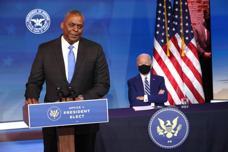 defense secretary lloyd austin biden