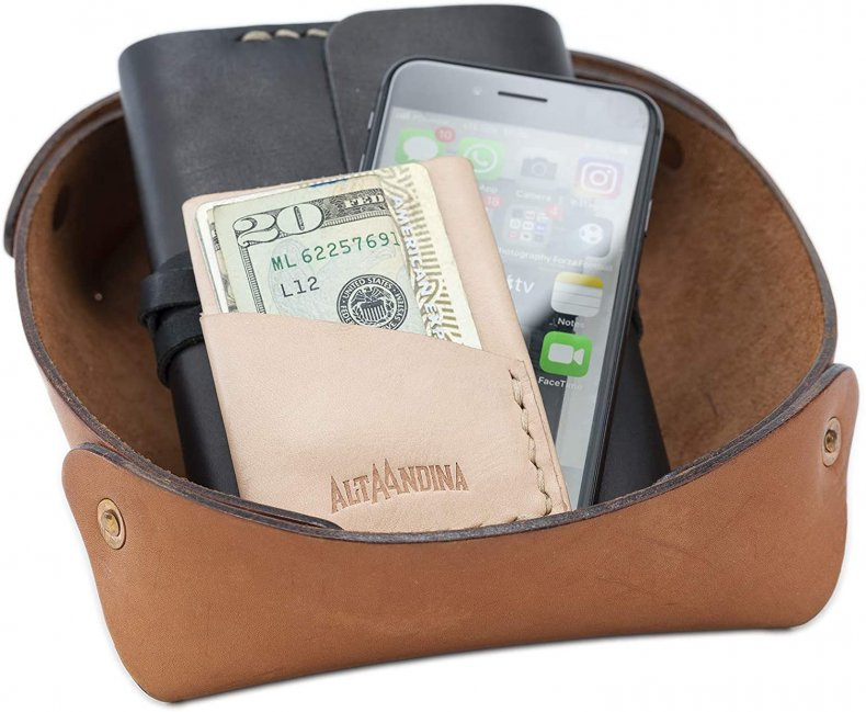 Catchall tray valentines day gift for him