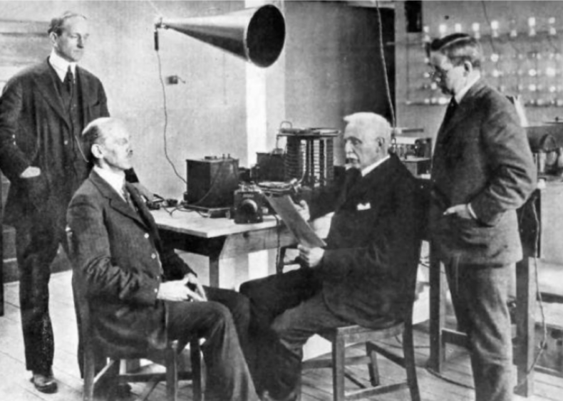 1920: Commercial radio