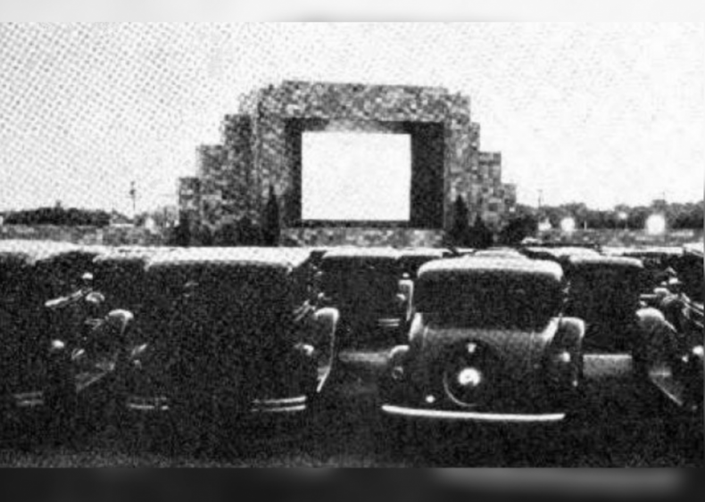 1933: Drive-in theaters