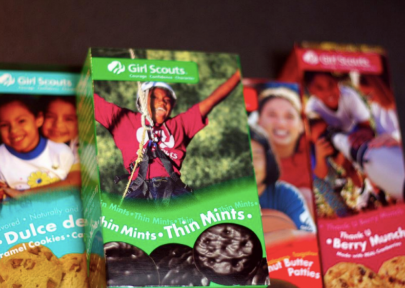 1936: Girl Scout cookies