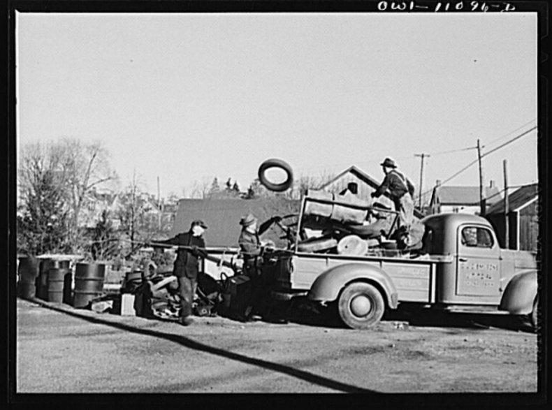 1942: Scrap drives