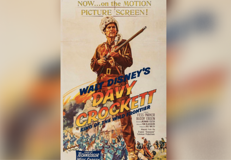 1954: Davy Crockett