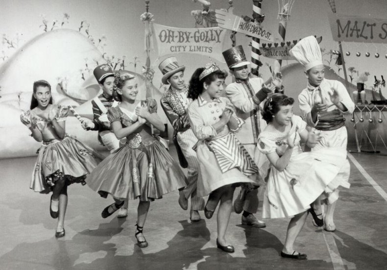 1955: 'Mickey Mouse Club'