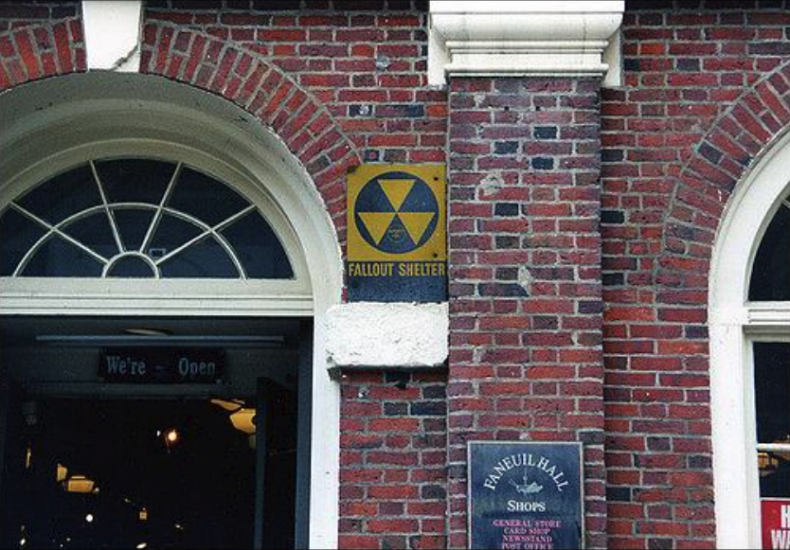 1961: Fallout shelters