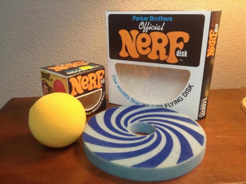 1970: The Nerf ball