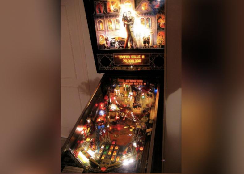 1992: 'The Addams Family' pinball machine
