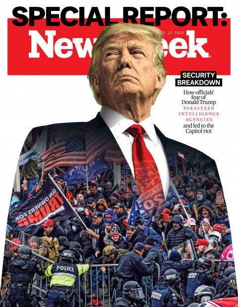 Trump and Capitol Riot cover