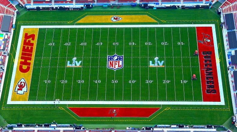 Super Bowl LV in Tampa, Florida
