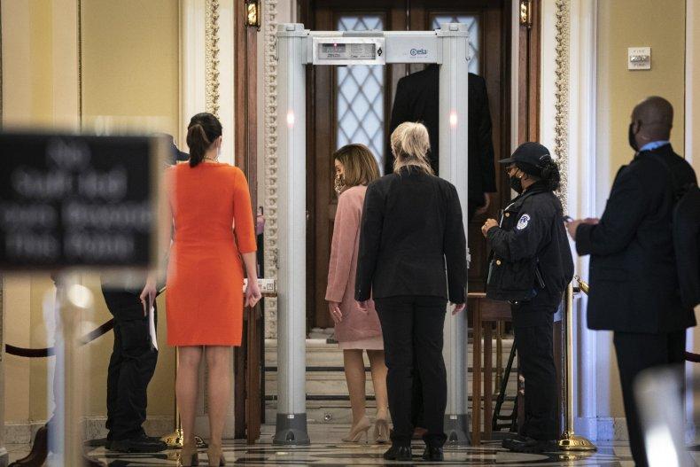 House metal detectors fines Republicans Democrats Pelosi