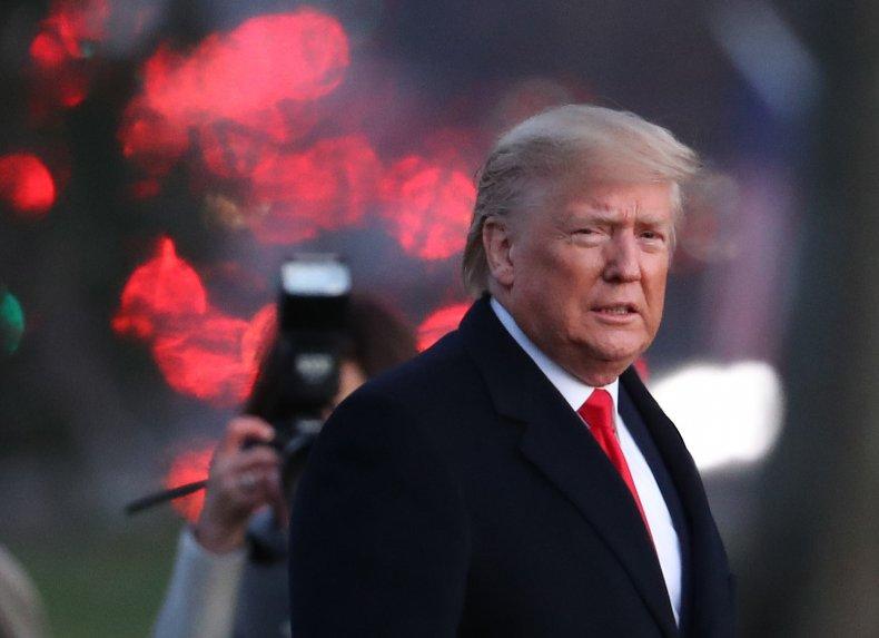 Donald Trump Senate impeachment trial defense catch-22