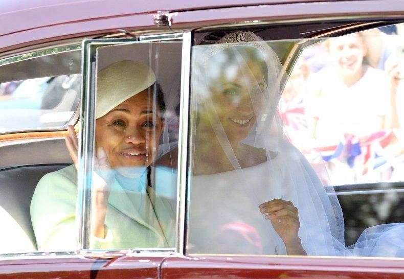 Meghan Markle, Doria Ragland at Royal Wedding