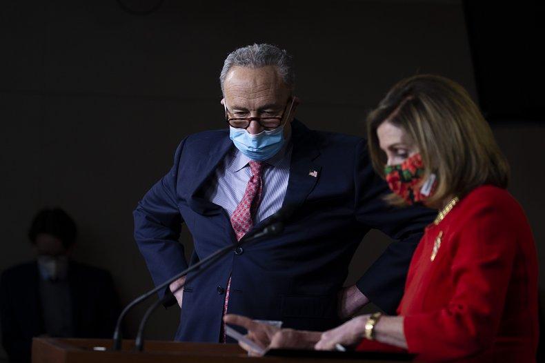 Leader Chuck Schumer and Speaker Nancy Pelosi