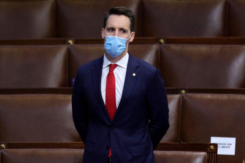 Republican Senator Josh Hawley