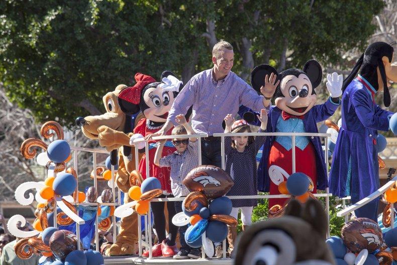 Peyton Manning at Disney World